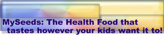 Kids Health Food Title Graphic
