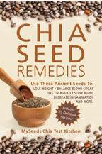Chia Seed Remedies Book Cover Image